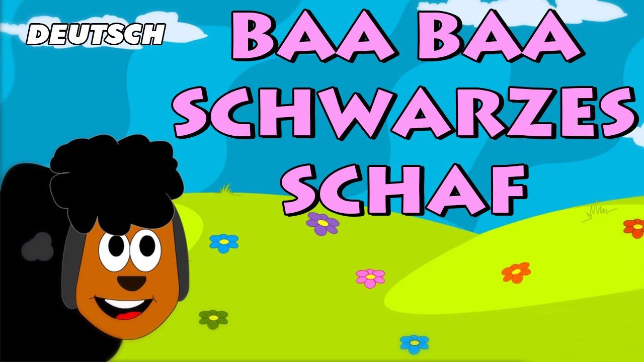 Baa Baa Schwarzes Schaf (Baa Baa Black Sheep) | German ...