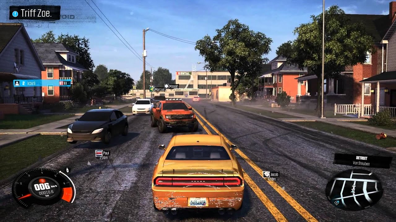 THE CREW [Detroit Car Bug] PC GTX970 4gb - YouTube