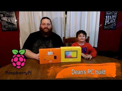Kano Raspberry Pi computer kit build