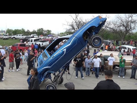 Easter Sunday 2018 Lowrider Picnic Echo Lake Park Fort Worth