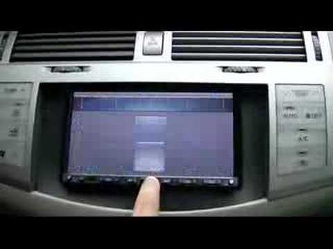Avic Z2 Toyota Avalon 2006 Cpuforever Com Youtube