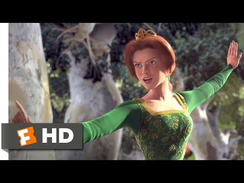 Shrek (2001) - Princess vs Merry Men Scene (6/10) | Movieclips