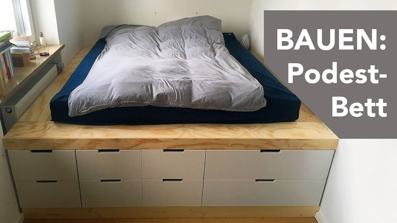 Build Podium Bed