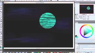 Corel Painter Uranus Speed Drawing