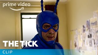 The Tick - Clip: Tick Meets Lint | Prime Video