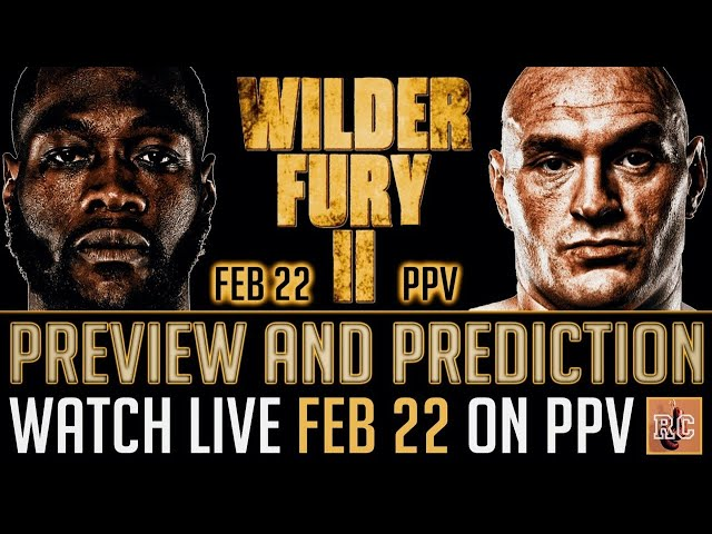 Deontay WILDER Vs Tyson Fury 2 (Part 1 Live) Four Nights to go!!!