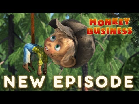 Masha and The Bear - Monkey Business 🐵(Episode 74)