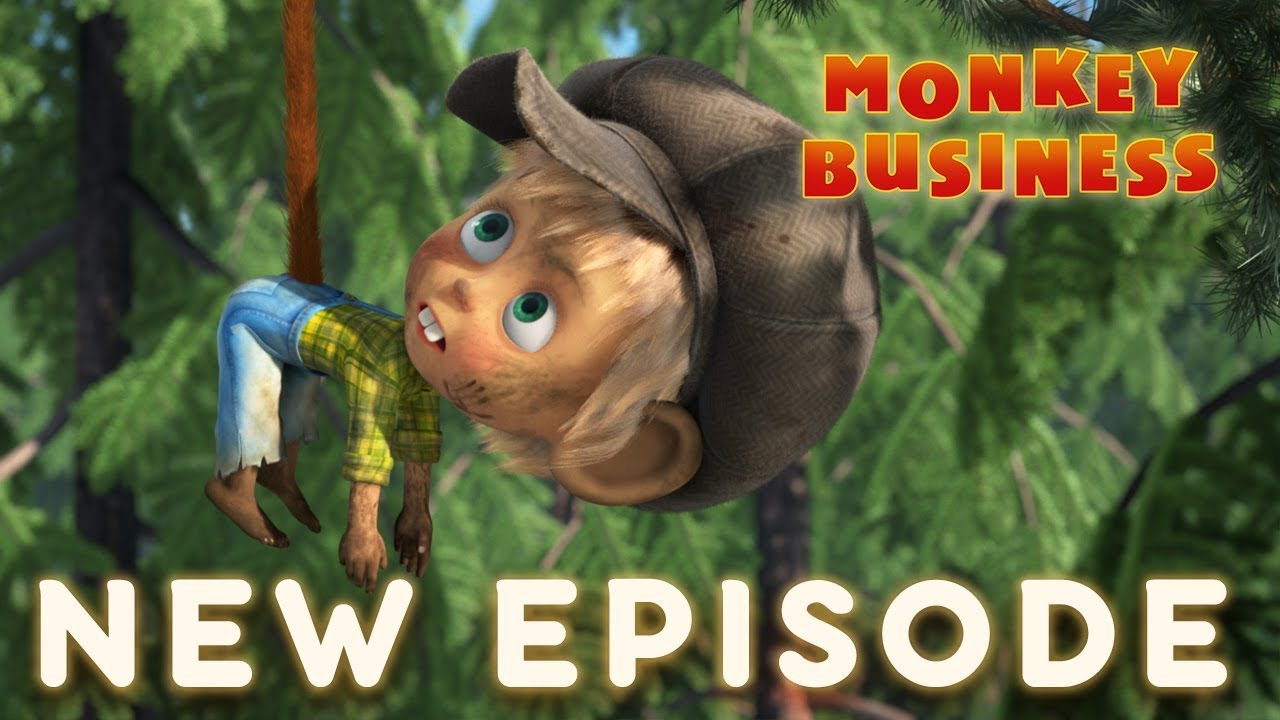 Masha and The Bear - Monkey Business ????(Episode 74)