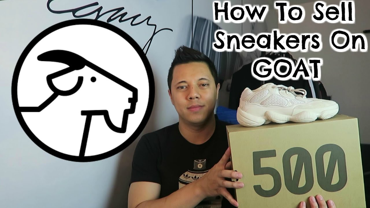 How To Sell Sneakers On GOAT App!