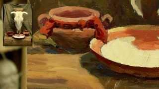 Натюрморт: дальнейшая живопись - Обучение живописи. Масло. Введение, 14 серия