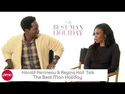 Harold Perrineau & Regina Hall Talk THE BEST MAN HOLIDAY With AMC