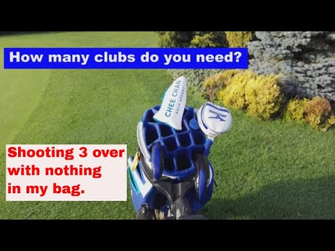 3 Clubs And A Putter. How Many Clubs Do You REALLY Need?