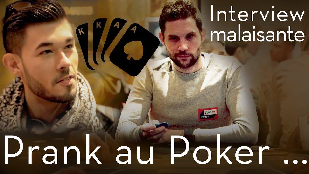 Se faire passer pour un joueur Pro de Poker avec Adri Geek , UnsterBliicher et Armand TV, by PMU