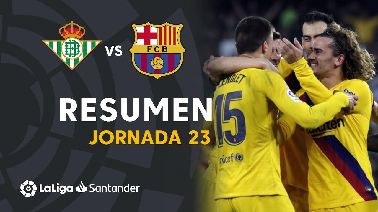 Бетис  2-3  Барселона видео