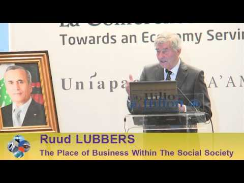 Beirut Conference 2013 - Ruud LUBBERS: The Place of Business Leader Within The Social Society
