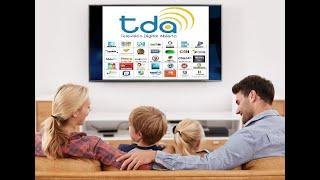 Como hacer una antena casera para tv 2018, HD, TDA, TDT, TVHD canales HD Gratis solo un cable  ®