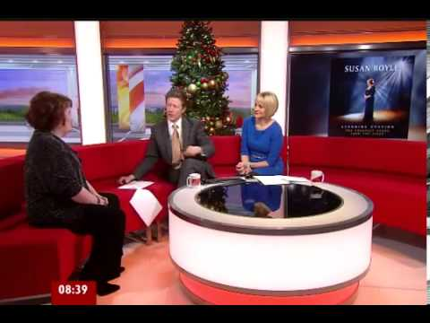 Susan Boyle - Susan's interview on BBC Breakfast  - VIDEO BBC
