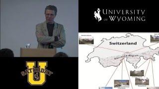 Craig David Thompson at Saturday U – Climate Change in the Alpine Zone