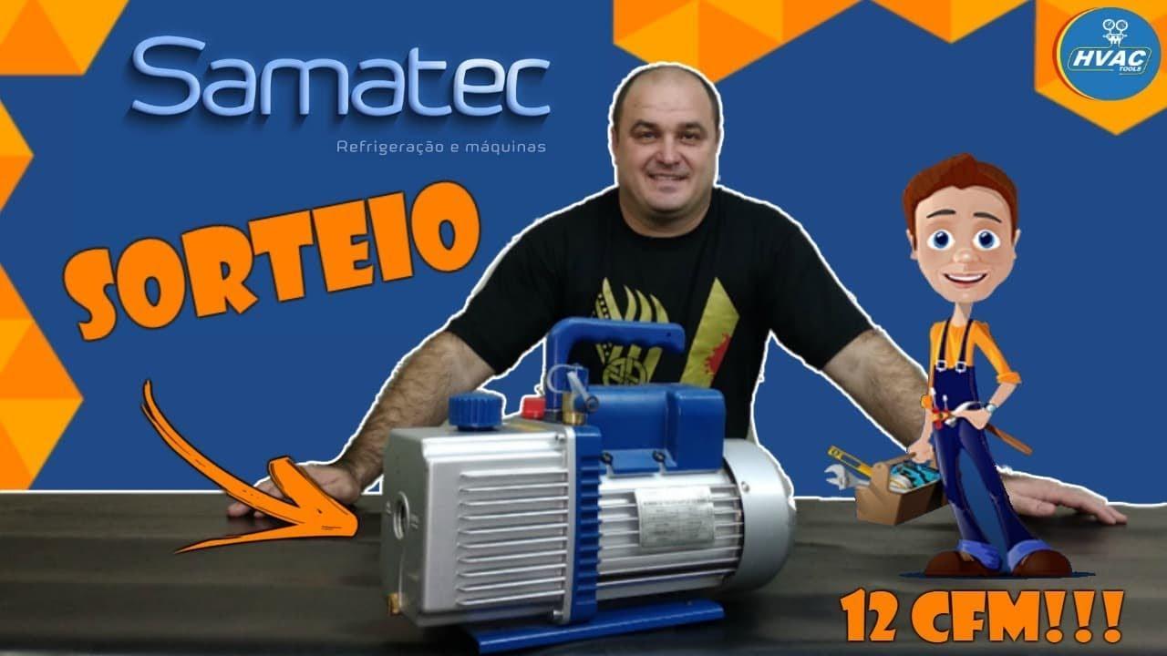 Samatec Draw, Vulkan 12 cfm Vacuum Pump