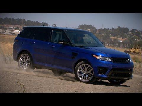 Car Tech - The 550-horsepower Range Rover Sport SVR