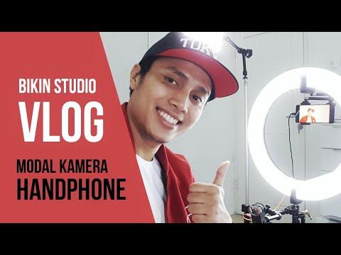 Cara Membuat Vlog Ala Studio Dengan HP
