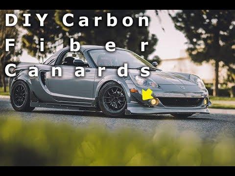 How To Make Diy Custom Full Carbon Fiber Canards Easy Youtube
