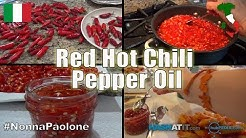 Episode #12 -  Italian Red Hot Chili Pepper Oil with Nonna Paolone and Zia Nina Meffe Paolone