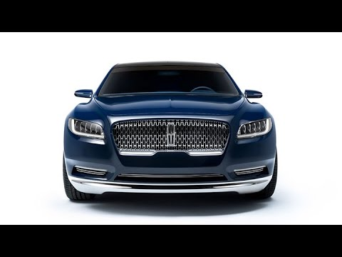 New Lincoln Continental Car Unveiled To Revive Brand Youtube