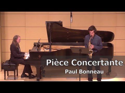 Bonneau: Pièce Concertante Dans L'Esprit Jazz