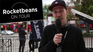 Just Cause 3 | Rocket Beans on Tour | Johannes und Marian in Hamburg