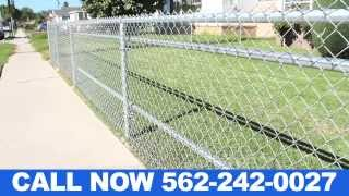 Residential Chain Link Fence Installers Orange County Ca (562) 242-0027 La Habra Ca