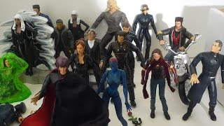 A look at my X-Men movie figures