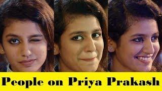 People on Priya Prakash  CG Funny Video Chhattishgarhi Comedy