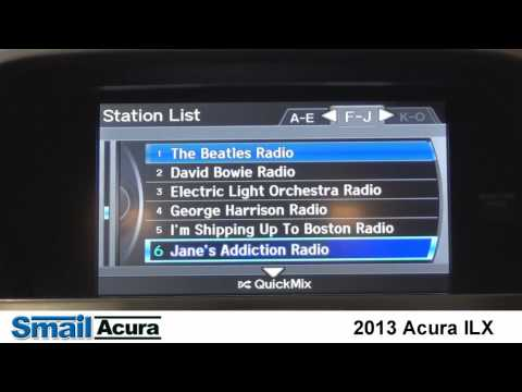2013 Acura ILX Featuring Pandora Internet Radio with Clint Robbins of Smail Acura