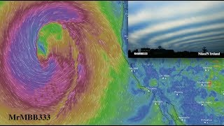 """Bizarre """"Winter"""" Anomalies being influenced by a TITANIC Pacific Low!"""