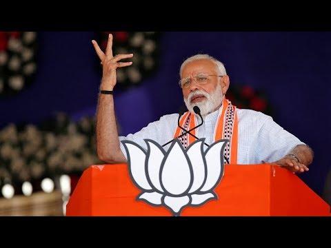 PM Modi Addresses a Rally in Lohardaga, Jharkhand