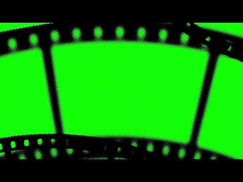 Film Strip Green Screen (5 Video)