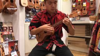 Ukulele Puapua presents the Valley Made Concert Longneck ukulele so...