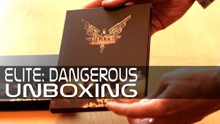 Elite: Dangerous Hardcopy Unboxing