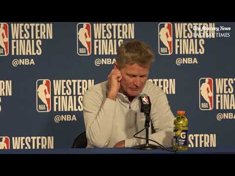 NBA Playoffs pregame: Kerr says no Andre Iguodala for Game 4