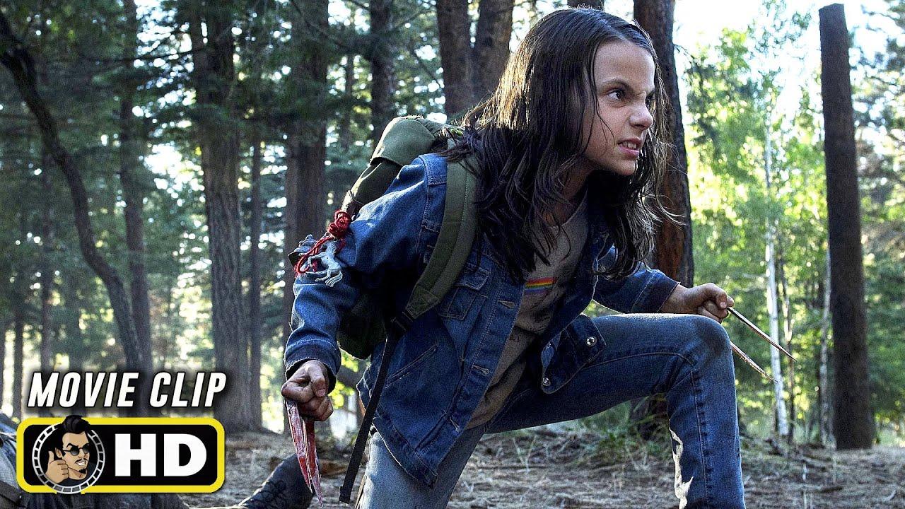 Download LOGAN (2017) Movie Clips - Forest Fight [HD] Hugh Jackman