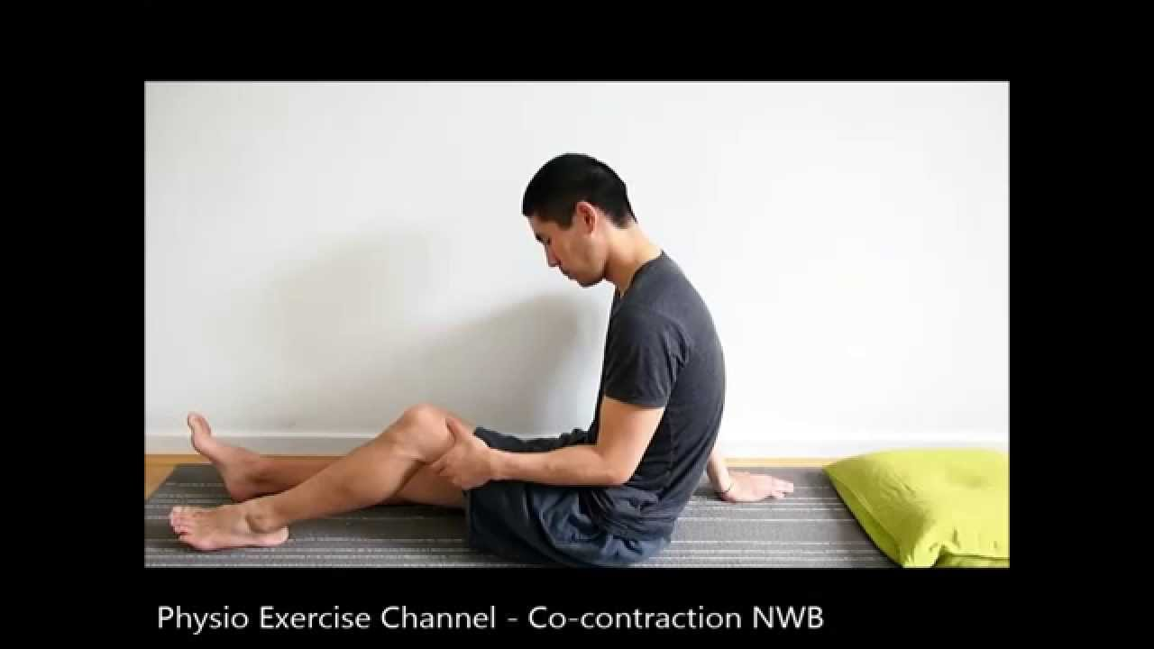 Co-contraction In Sitting    Non-weightbearing