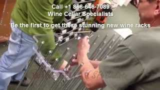 "Vintage View ""evolution Series"" Wine Racks - Custom Wine Cellars - Wine Displays"