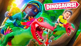 DINOSAURS in FORTNITE!