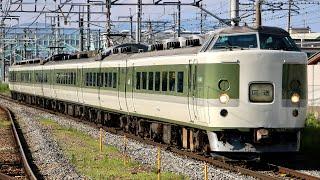 189系N102編成 ムーンライト信州送り込み回送 篠ノ井駅発車シーン