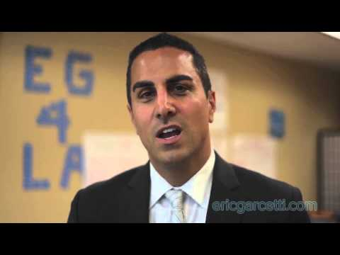 Assemblymember Mike Gatto Endorses Eric Garcetti for Mayor
