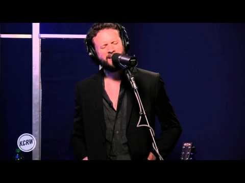 "Father John Misty performing ""Bored In The USA"" Live on KCRW"