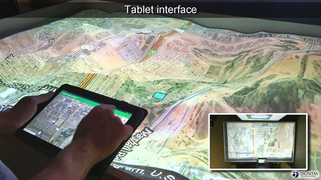 Augmented Reality Sandtable Ares Youtube