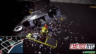 EmergeNYC - Serious Accident - 1st Look Rescue Tools, EMS Gameplay and More!