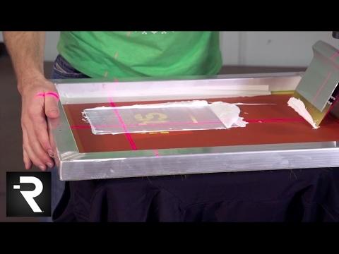 Riley Hopkins Screen Printing Presses w/ Frickin Laser Beams